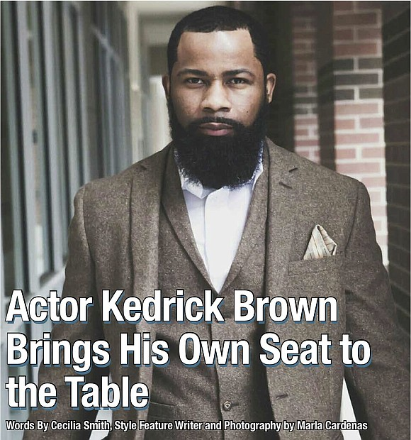 Kedrick Brown Cover Story