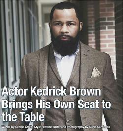 Kedrick Brown Cover Story