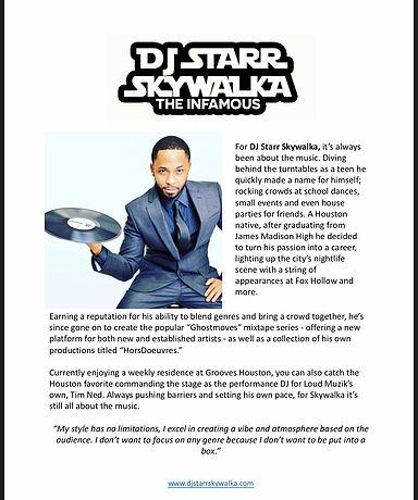 DJ Skywalka Bio Image