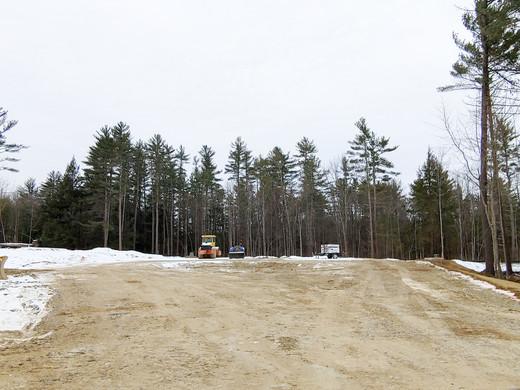 Tuck Drive road progress as of 1/18/20