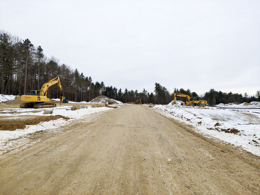 Phase 2 road progress as of 1/18/20