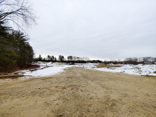 Entrance to Tuck Drive looking toward Phase 3, as of 1/18/20