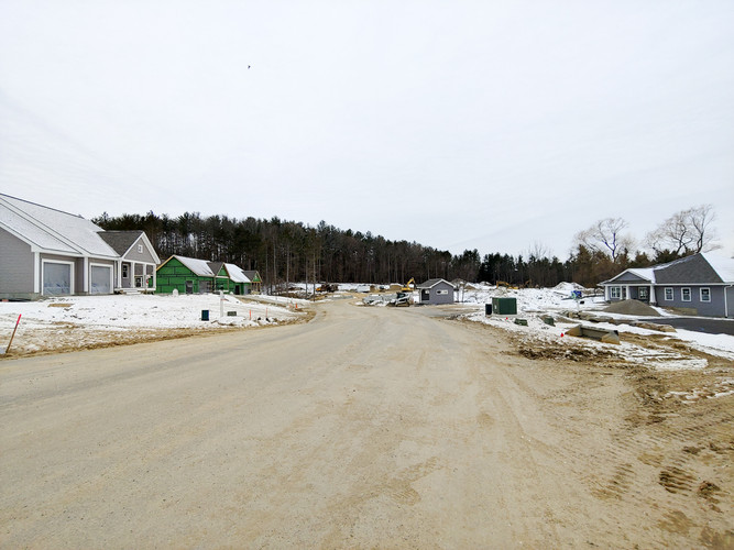 Phase 1 and clubhouse, looking toward Phase 2, as of 1/18/20