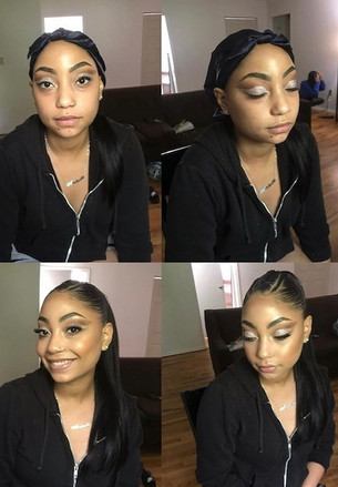 Prom Makeup Glam