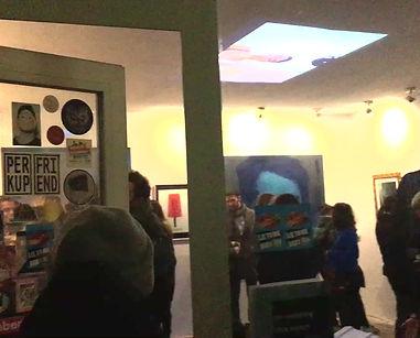 Liquid Noise (teaser) by Sarah Glück & Rafael Lippuner at LIE TO ME exhibition, Improper Walls Wien