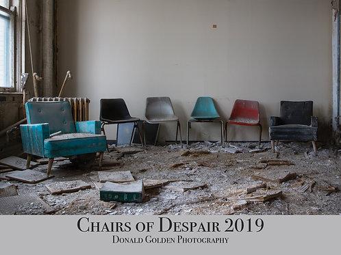 2019 Chairs of Despair wall calendar