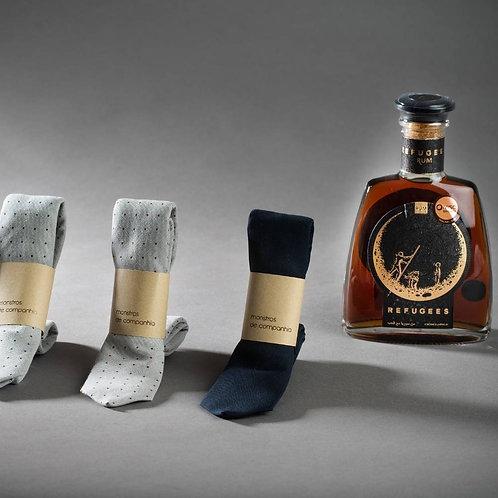 GiftBox Rum e Gravata Prenda do Dia do Pai
