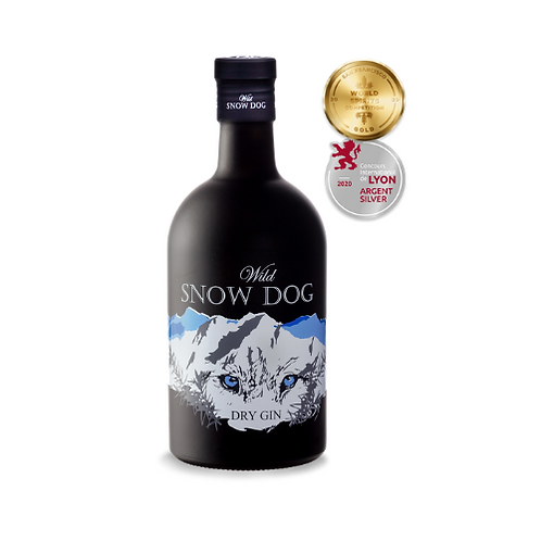 Gin Wild Snow Dog Dry 700ml