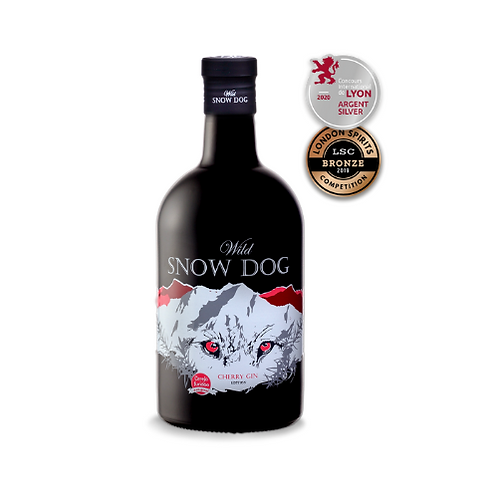 Gin Wild Snow Dog Cherry 700ml