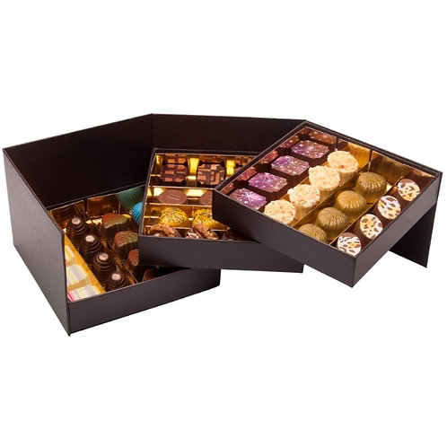 Bombons Chocolate Artesanal Caixa 48 Prestige 550g