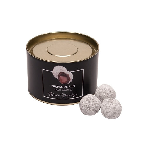 Trufas Rum Black & White Edition Maria Chocolate 100g