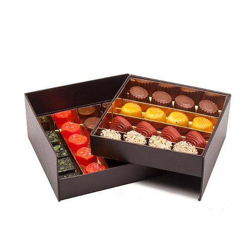 Bombons Chocolate Artesanal Caixa 32 Prestige 360g