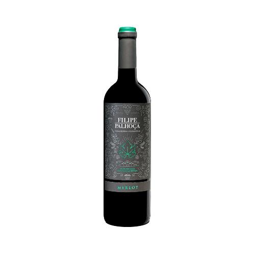 Vinho Tinto Merlot Filipe Palhoça Península Setúbal 75cl