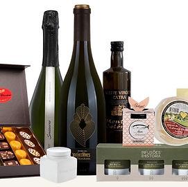 cabazes de natal gourmet para empresas e ofertas a particulares
