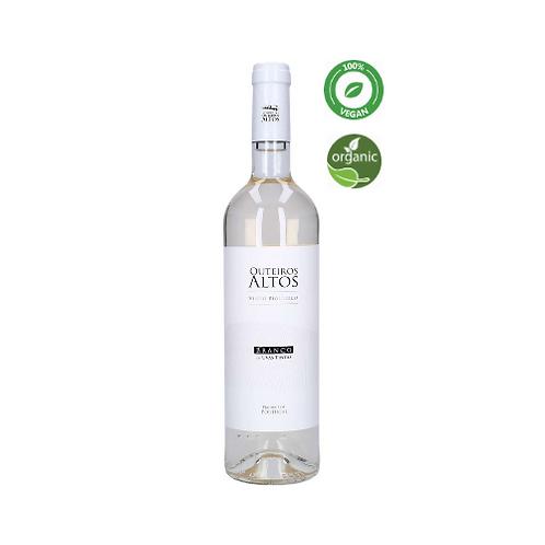 Vinho Biologico Branco de Uvas Tintas Alentejo DOC Outeiros Altos 75cl