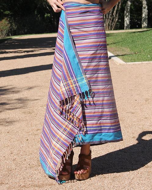 Multicolor Striped Kikoy