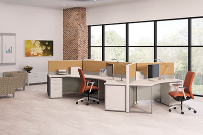 Abound Panel System-open based -office furniture