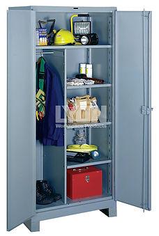 Lyon's all-welded storage cabinet