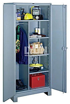 Lyon's all-welded storage cabinet