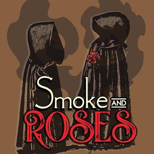 roses - smoke - incense