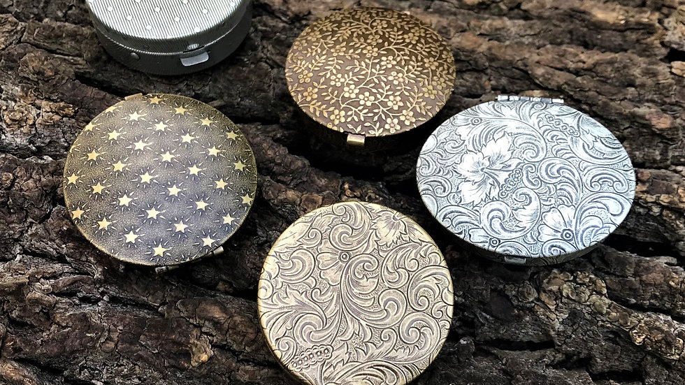 Solid Perfume Compact