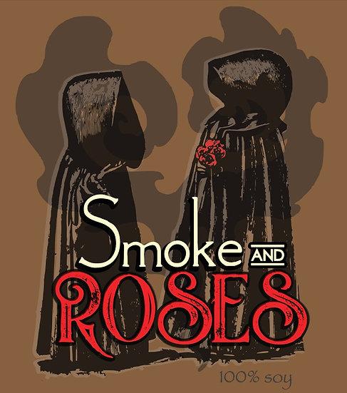 S M O K E + R O S E S // roses - smoke - incense - powder