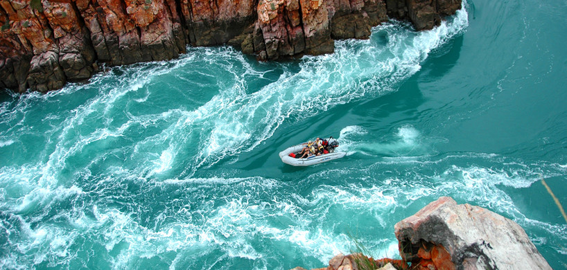 Zodiac in Horizontal Falls