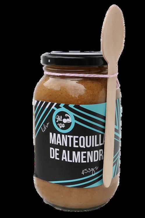 Mantequilla Almendra Natural 1 Libra