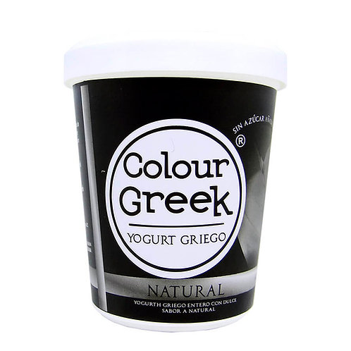 Colour Greek yogurt griego natural 1000 gramos