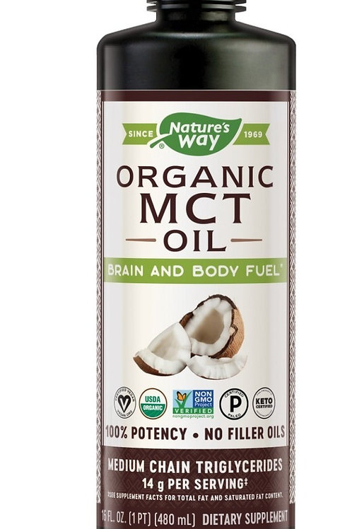 Mct Oil Natures Way 480 ml