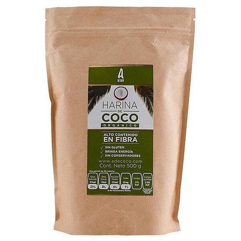 Harina de Coco A de Coco Organica 500 g