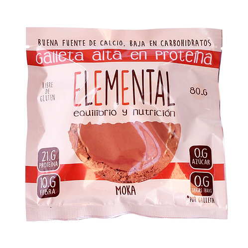Galleta de proteína Elemental