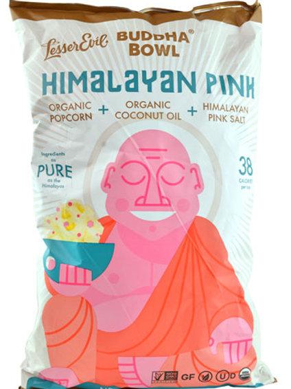 Budda Bowl Organic Popcorn  Himalayan Pink