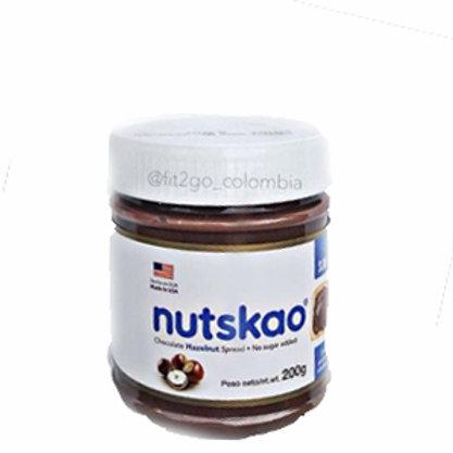Nutskao Crema de avellanas sin azúcar