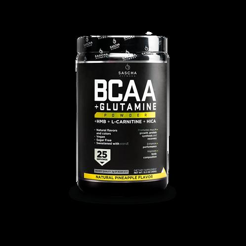 Sascha Fitness BCAA y Glutamina 25 Serv.