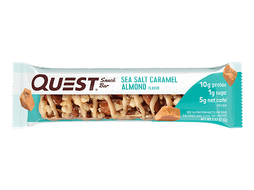Snack Bar Quest Caramelo Salado