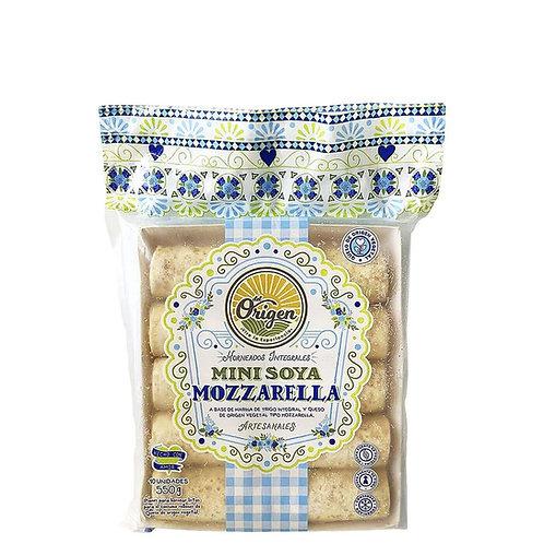 Deditos del origen mini soya mozzarella o cheddar 10 unidades