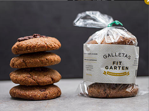 Galletas con chocochips x4 Fit garten