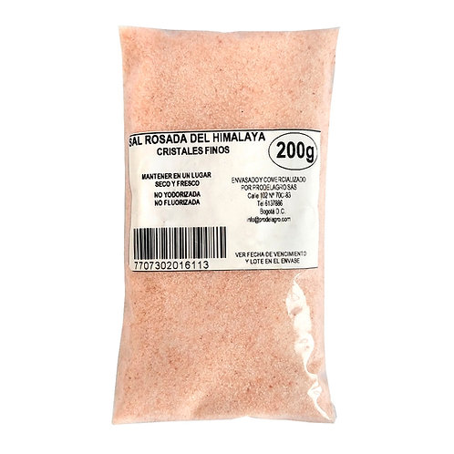 Sal rosada del Himalaya 200g