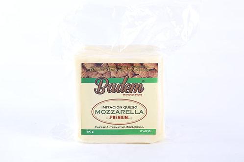 Queso Mozarella Tajado Badem Vegano 500 g