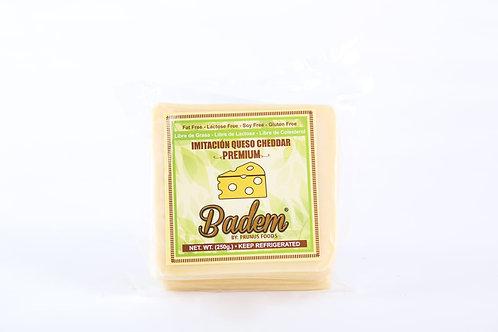Queso Badem Cheddar de Almendras Tajado Badem 250g