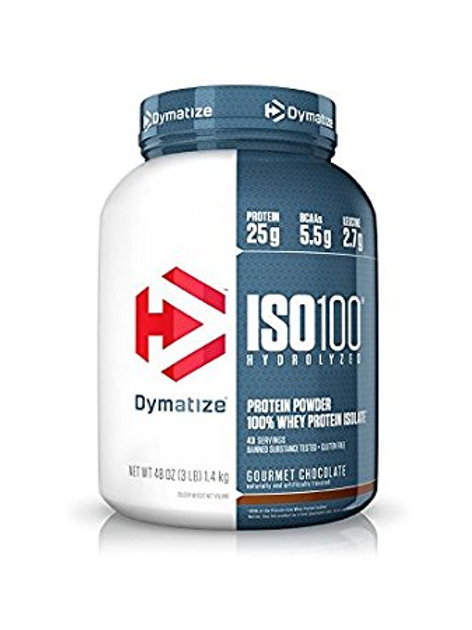 Iso 100 Dymatize Proteína Aislada 3 Lb