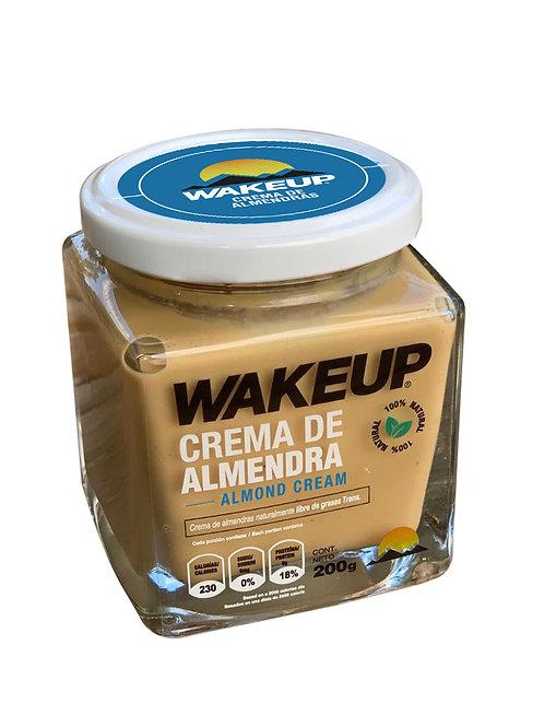 Mantequilla de Almendra Wake Up 200g