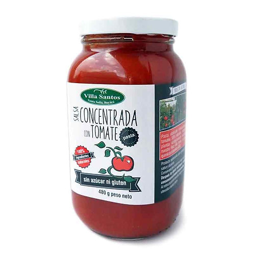 Salsa con Tomate Concentrado480g gr
