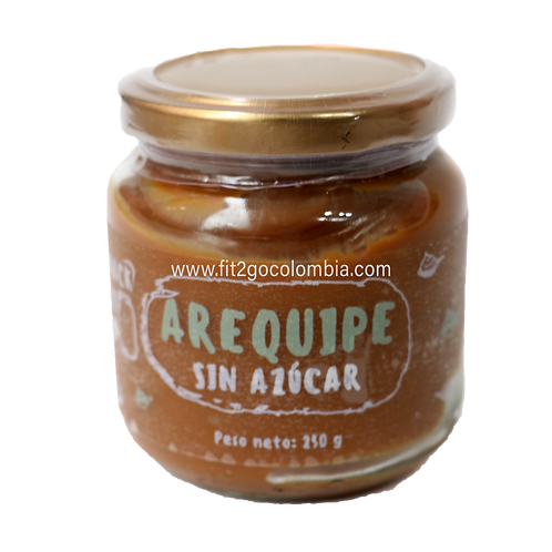 Arequipe sin azúcar 250g Snack Fit me