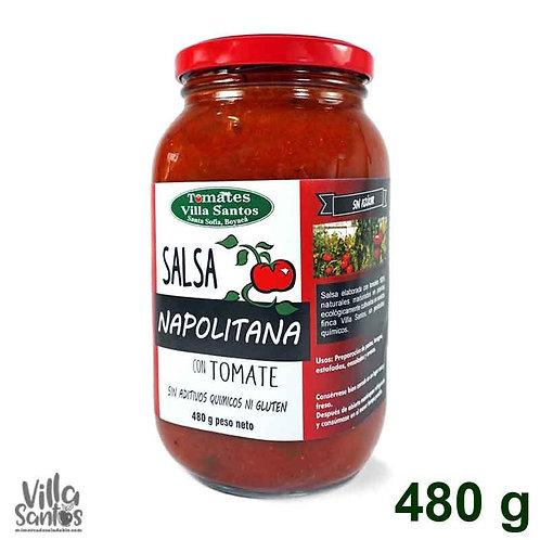 Salsa Napolitana 480g Villa Santos