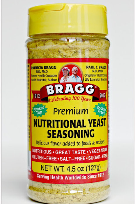 Bragg Nutritional Yeast Seasoning 4.5 Oz Levadura
