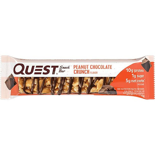 Snack Bar Quest Peanut Chocolate Crunch