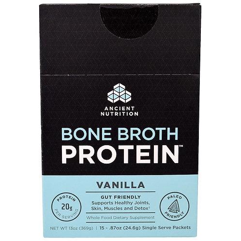 Sobre Bone Broth Ancient Nutrition Vainilla Ancient Nutrition Unidad