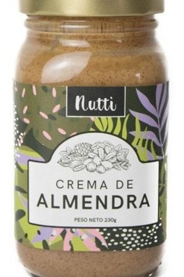 Crema de Almendra Nutti 240g